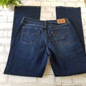 Levi's 515 Bootcut Jeans Size 8